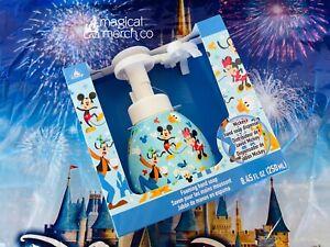 2021 Disney Parks Mickey Head Shape Foaming Soap Dispenser SEALED NEW