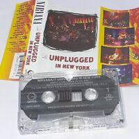 NIRVANA UNPLUGGED IN NEW YORK RARE THAILAND CASSETTE TAPE ALBUM