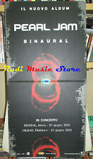CARTONATO PROMO PEARL JAM Binaural 62 X 32 CM EPIC SONY cd dvd vhs lp live mc