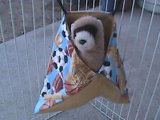 Ferret Corner Sack - Flannel Sports Pattern