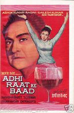 ADHI RAAT KE BAAD HORROR ORIGINAL  PRESS BOOK BOLLYWOOD ASHOK KUMAR
