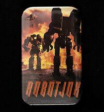 "1989 Robotjox 1 3/4"" x 2 3/4"" Home Video Movie Pinback Button"