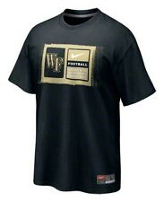 Wake Forest Demon Deacons Football t-shirt Nike medium new with tags NWT ACC WFU
