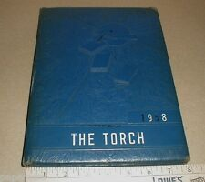 1958 East Spencer High School Elementary North Carolina NC Yearbook The Torch