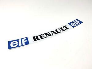F1 Helmet Visor Sticker Senna Lotus Renault ELF Bell F1 Motorsport