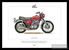 Brochures Paper CB Honda Motorcycle Manuals & Literature