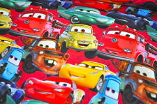 JERSEY DISNEY CARS LIGHTNING MC QUEEN AUTOS FILM KINDER JUNGEN 0,5M X 1,50M