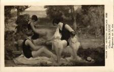 CPA Salon des Artistes Francais CH. DESCOUST Baigneuses sur la rive (701771)