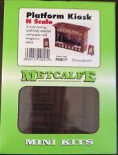 Metcalfe Mini Kit PN817. Platform Kiosk. N Scale.