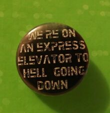 ALIENS quote 25mm Pin Button Badge Alien hr giger cult film sci-fi space dvd vhs