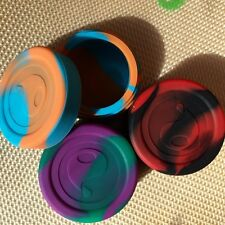 Oil Slick Stacker 3pack blue/orange, purple/green, and black/red