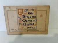 Vintage John Player And Sons The Kings And Queens Of England 1066-1935 Cigarette