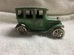 "Vintage Arcade Cast Iron Touring Car 5"""