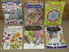 HUGE LOT OF ADULT COLORING BOOK RELAX AND HAVE FUN