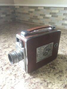 Vintage KEYSTONE K-40 8mm Magazine Movie Camera w/ 13mm f:1.9 lens