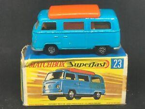 Matchbox MB23-A1 Superfast: Volkswagen Camper & G Box