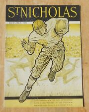 St Nicholas Magazine for boys and girls vintage 1931 October football