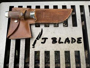 Excellent Condition CASE XX 1935 Patent Walnut Handle Knife/Hatchet combination