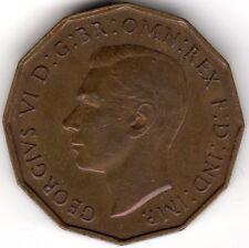 1937 George VI Nickel-Brass Threepence***Collectors***(1)