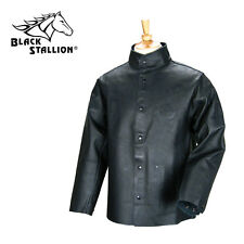 BLACK STALLION  Leather Welding Jacket Size L (Free Shipping Aust Wide)