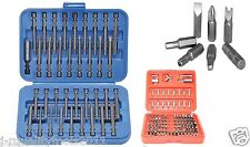 136pc Security Bit Set Tamper Proof Torx Star Tri Wing Pozi Torque w/ EXTRA LONG