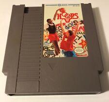 Hoops Nes Nintendo Good Tested