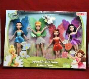 """NEW SET OF 3 FAIRIES FASHIONS SET TINKER BELL AND FREINDS  FITS 8/"""" DOLL"""