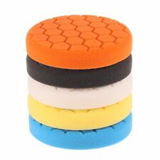 6 inch Mix Hardness Mix Color Buffing Pad Polishing Pad Kit For Car Pack of 5Pcs