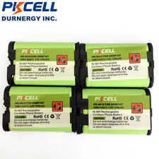 4 Cordless Home Phone Battery for Panasonic HHR-P107 HHRP107 HHR P107 PKCELL