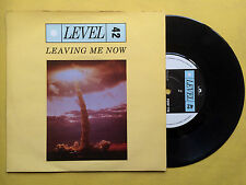LEVEL 42 - Leaving Me aujourd'hui / I Sleep On My Heart, polydor posp-776 EX