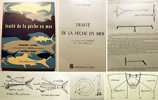 PECHE/EN MER/TRAITE DE LA../L.NAINTRE/ED CREPIN LEBLOND/1960/MANCHE/MEDITERRANEE
