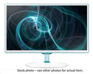 "Samsung T24D390 24"" business monitor TV PC gaming HDMI SCART VGA USB white"