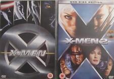 X-MEN 1 & 2 [One,Two] Jackman*Paquin*McKellen Marvel Superhero Action DVD *EXC*