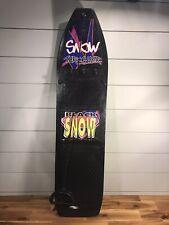 Vintage 1990's Snow Thrasher Snowboard by Black Snow Green Bottom. Ships Fast!