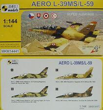 Aero L-39 MS/L-59 ,Super Albatros, Mark I, 1:144, Plastikmodell,NEUHEIT