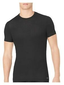 CALVIN KLEIN Mens Black Short Sleeve T-Shirt S