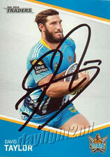 Autograph Gold Coast Titans Rugby League (NRL) Trading Cards