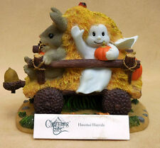 """CHARMING TAILS, FITZ AND FLOYD, """"HAUNTED HAYRIDE"""" ITEM 85/883"""