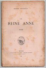 BRETAGNE POESIE FREDERIC FONTENELLE LA REINE ANNE 1896 ANNE DE BRETAGNE VOYAGE