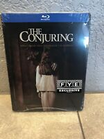 The Conjuring Steelbook (Blu-ray Disc) Factory Sealed *RARE* Extremely RARE FYE