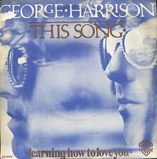 7inch GEORGE HARRISON this song HOLLAND EX / VG++ (white spot on cover)