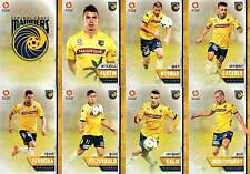 2015/16 TAP N PLAY FFA & A-LEAGUE 16-CARD BASE TEAM SET CENTRAL COAST MARINERS