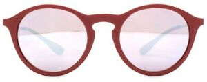 Ray-Ban Bordeaux Gunmetal Pink/Silver Lenses Sunglasses RB4243-6264B5-49