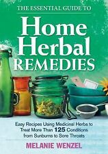The Essential Guide to Home Herbal Remedies~125 Easy Recipes~Prepping~NEW