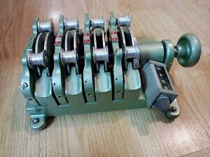 Magnasync Moviola 4-Gang Synchronizer Model SZD 16mm Frame Counter **Pls READ**