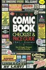 1995 COMIC BOOK CHECKLIST & PRICE GUIDE by Don & Maggie Thompson 500+ pg CBG SC