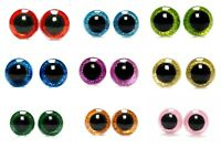 3D Sparkle Glitter Shiny Nonwovens Safety Eye 16-24 mm Amigurumi Toy Teddy Bear