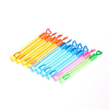 10Pcs Magic Bubble Wand Stick Blower Maker Kid Outdoor Wedding Party Toys JR