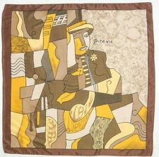 """Authentic Foulard """" Picasso """" / Authentic """" Picasso """" Scarf"""