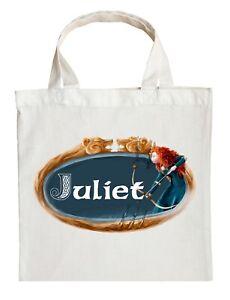 Merida Trick or Treat Bag - Personalized Brave Halloween Bag